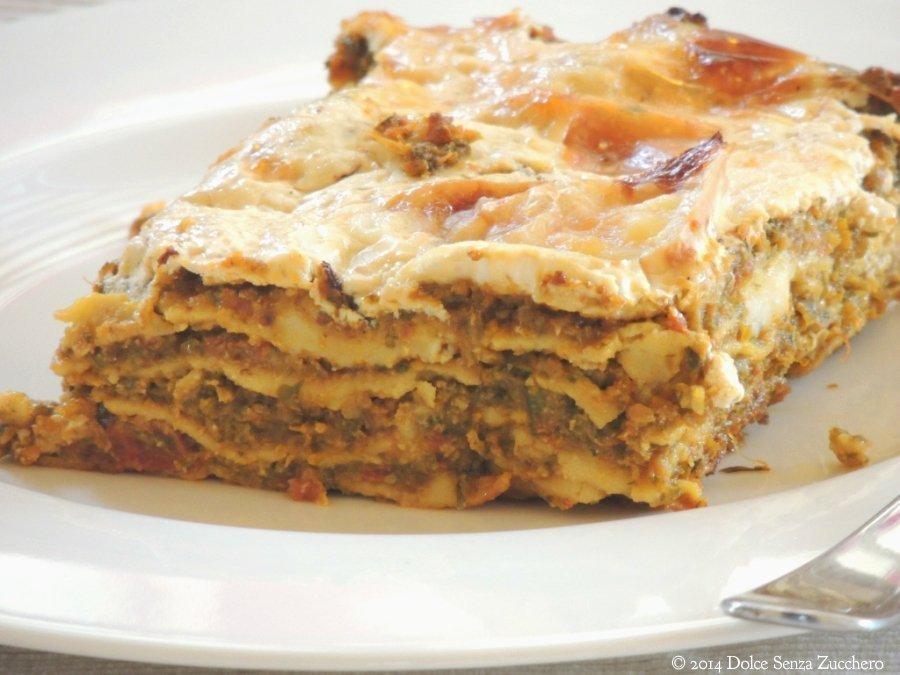 Lasagne con Zucchine e Pomodoro 2 photo