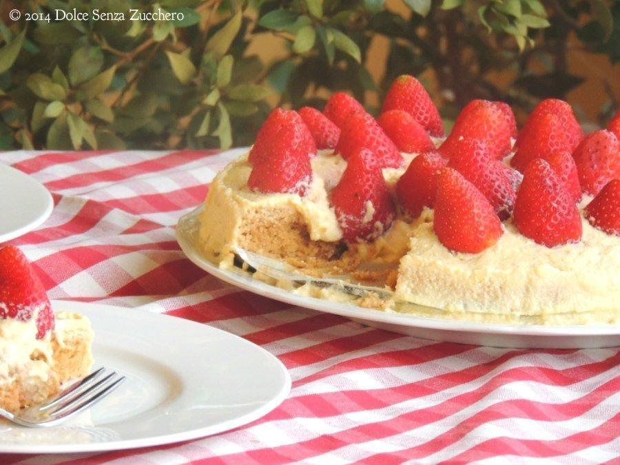 Torta Fragole e Crema Chantilly 10 photo