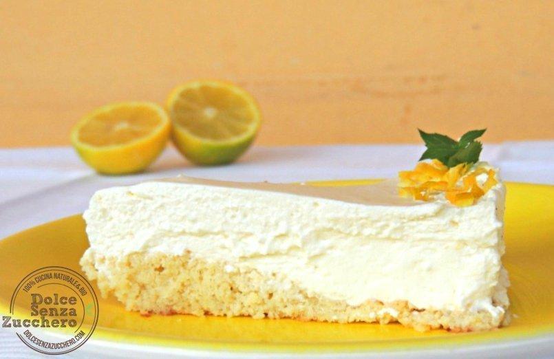 Cheesecake al limone e mandorle 2 photo
