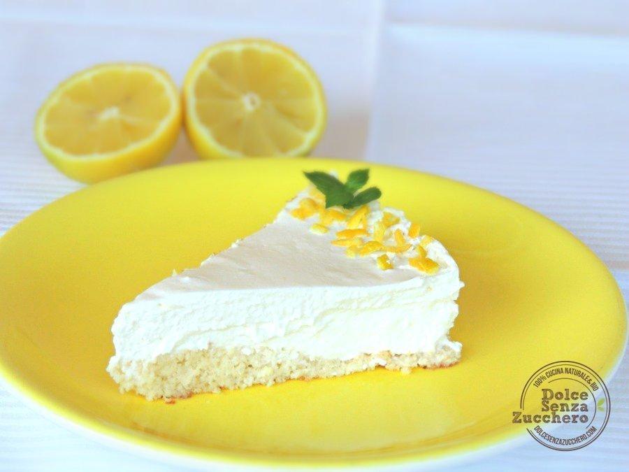 Cheesecake al limone e mandorle 3 photo