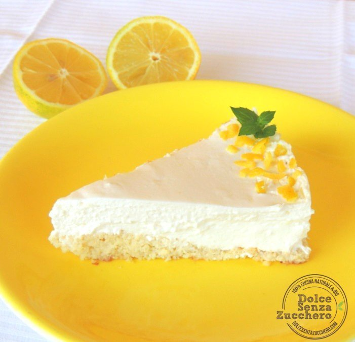 Cheesecake al limone e mandorle 4 photo