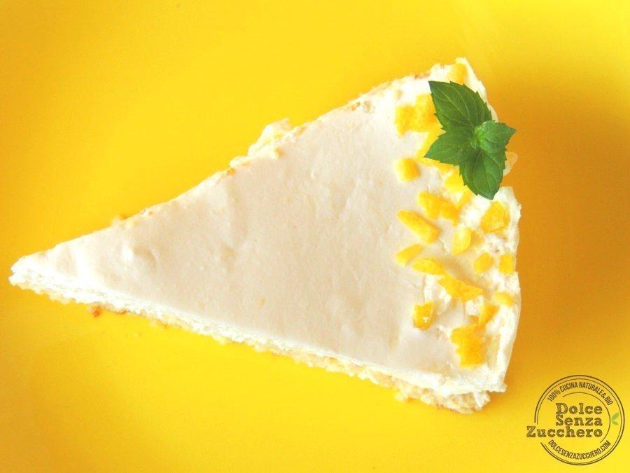 Cheesecake al limone e mandorle 52 photo