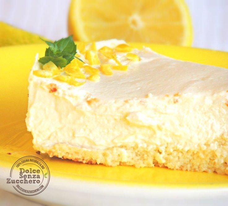 Cheesecake al limone e mandorle 6 photo