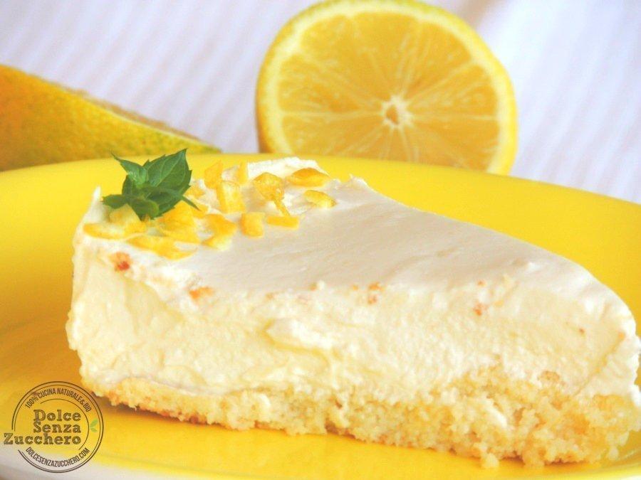 Cheesecake al limone e mandorle 74 photo