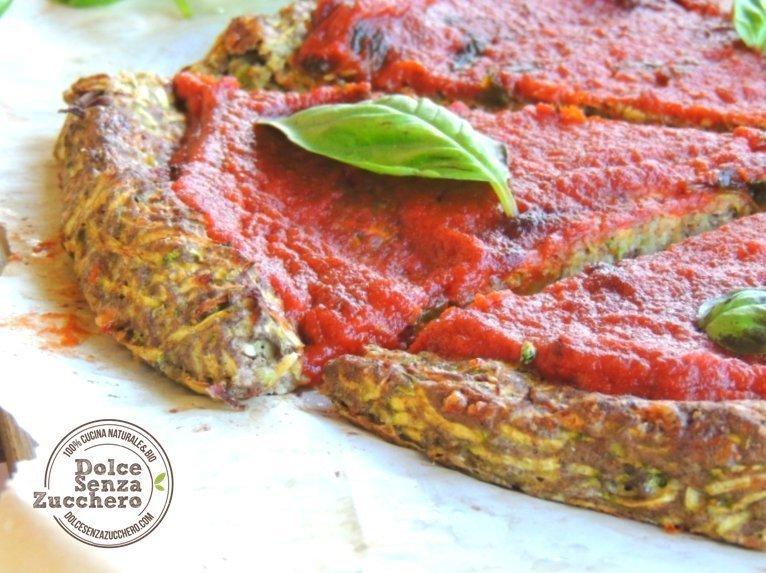 Pizza con le zucchine 3 photo