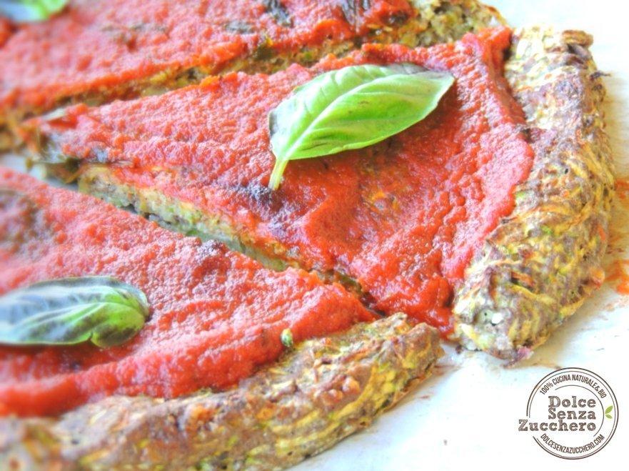 Pizza con le zucchine 4 photo