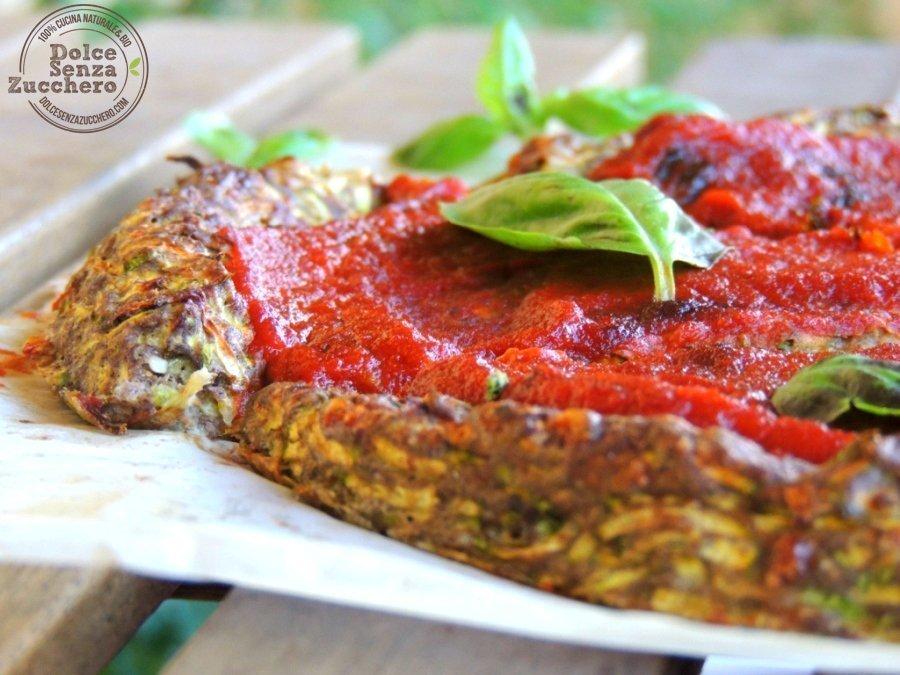 Pizza con le zucchine 5 photo