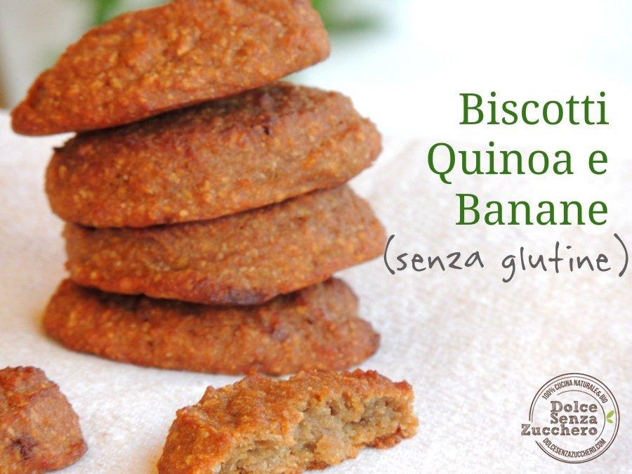 Biscotti di quinoa e banane 9 photo