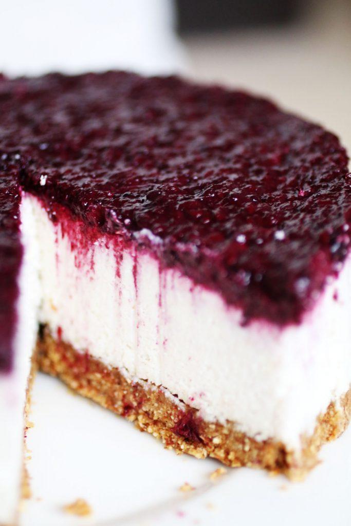 Cheesecake Senza Cottura e Senza Latticini (8)