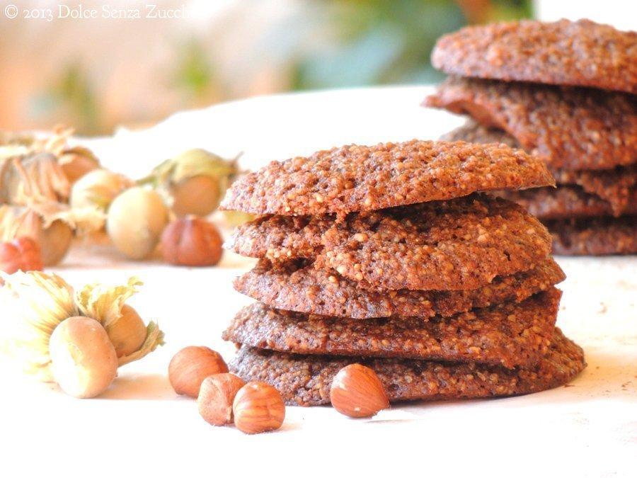 Biscotti con Nocciole Naturali Senza Zucchero (2)