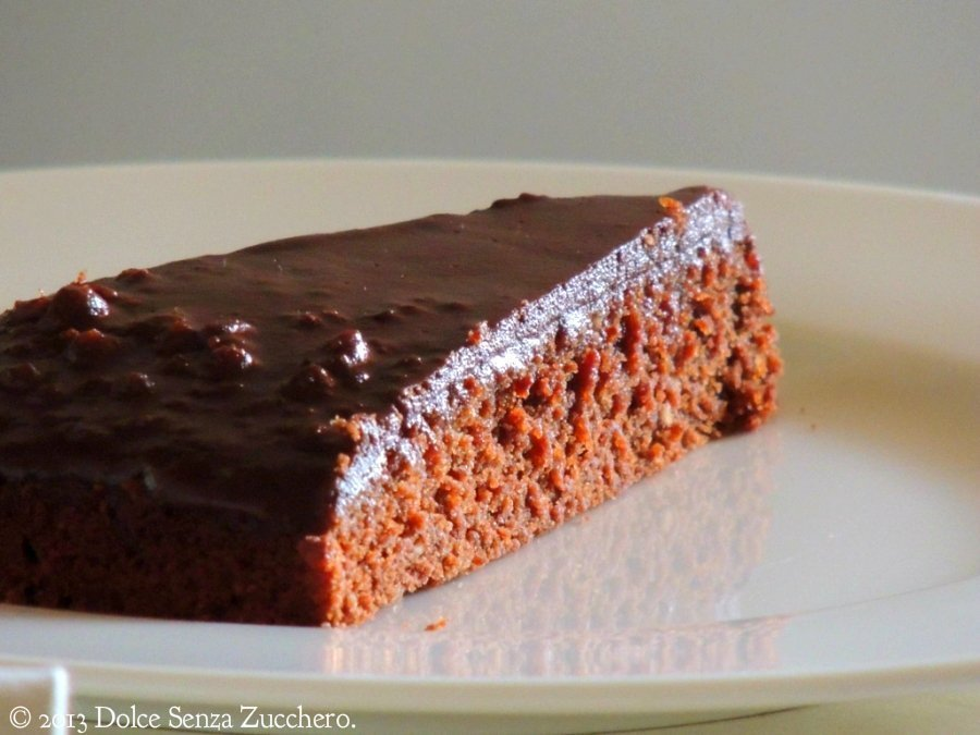 Semplice Torta Mandorle e Cioccolato 5 photo