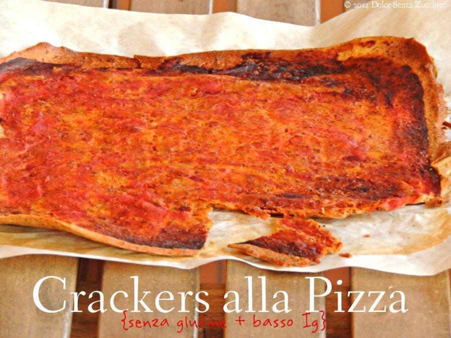 Crackers alla Pizza (Senza Glutine e con Ig Basso)