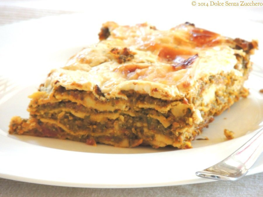Lasagne con Zucchine e Pomodoro (1)