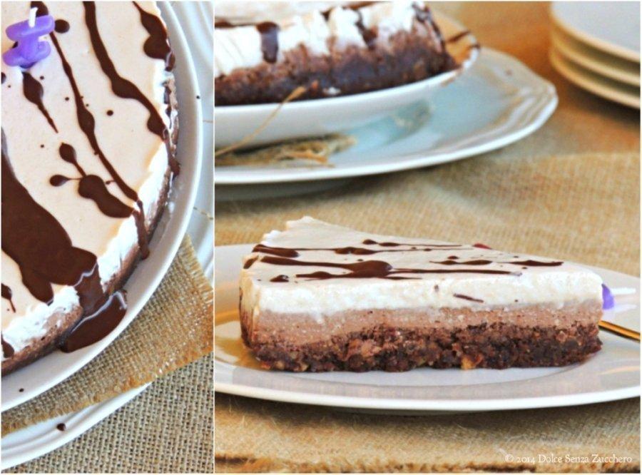 Torta alla Nocciola, Cioccolato e Panna