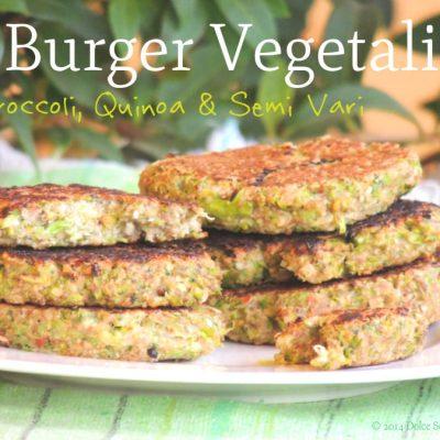 Burger Vegetale con Quinoa e Broccoli