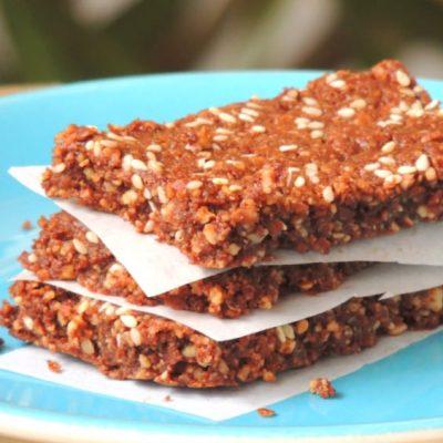 Biscotti Mandorle e Semi di Sesamo (Senza Glutine, Senza Farina, Senza Uova)
