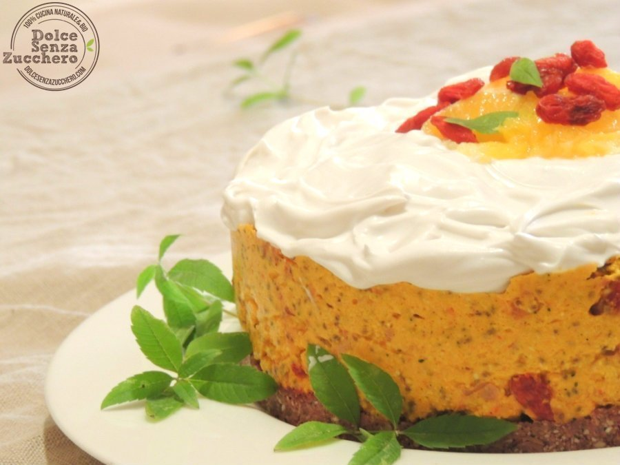Torta di Agrumi Cruda [Ricetta Originale]