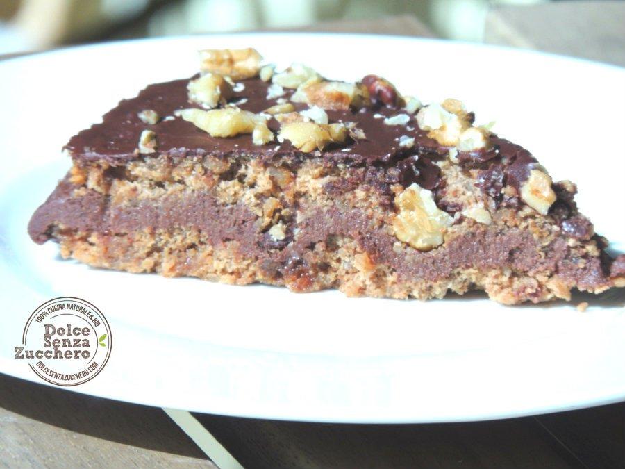 Torta Noci e Cioccolato 3