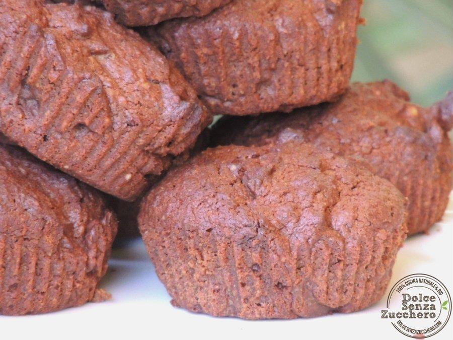 Muffin al Cioccolato Senza Farina (Senza Glutine)