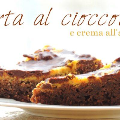 Torta al Cioccolato Con Crema all'Arancia ( Senza Glutine)