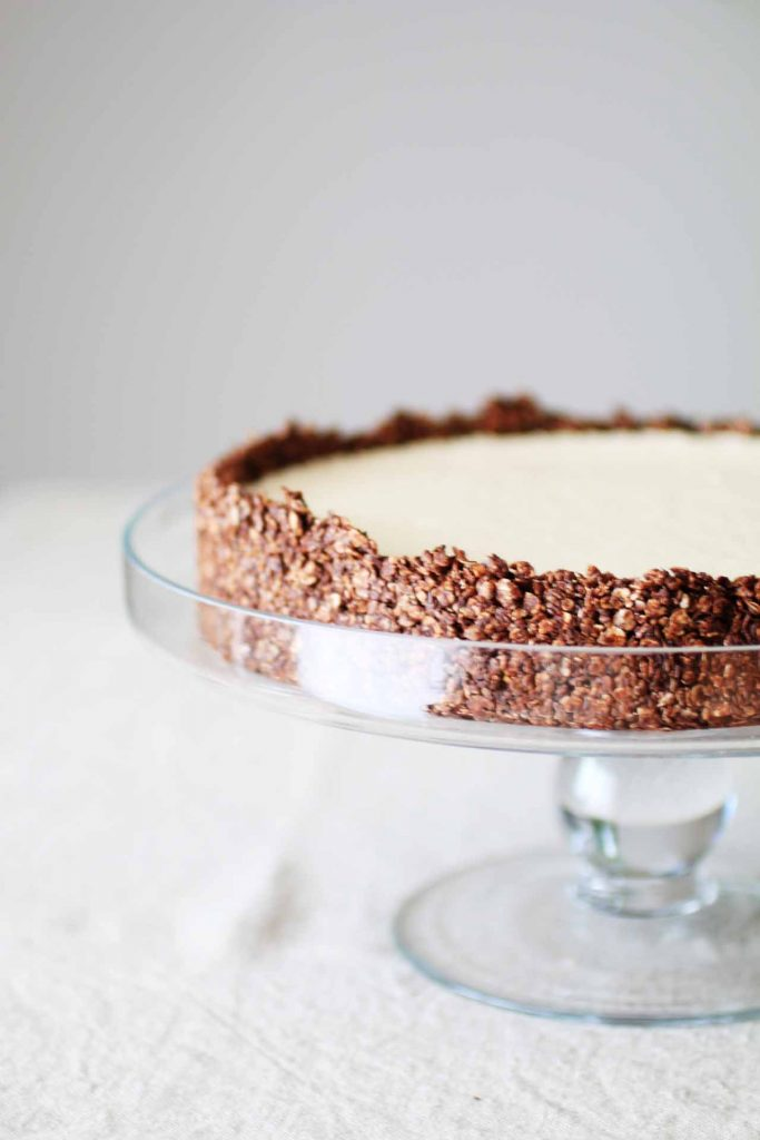 Torta fredda al burro di arachidi_Dolce Senza Zucchero (4)