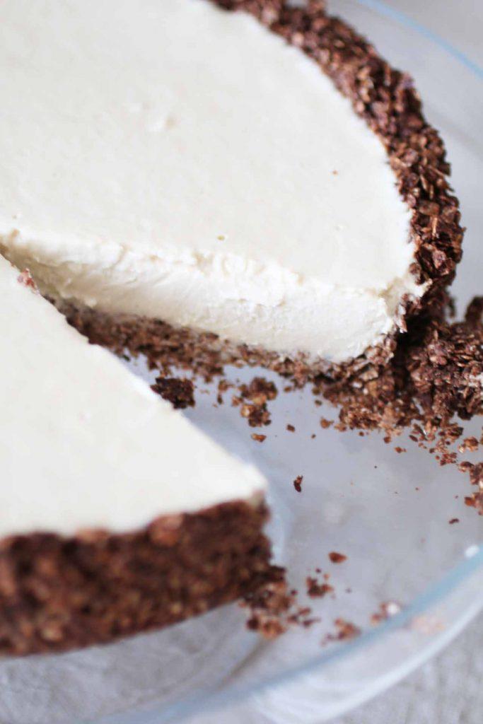 Torta fredda al burro di arachidi_Dolce Senza Zucchero (7)