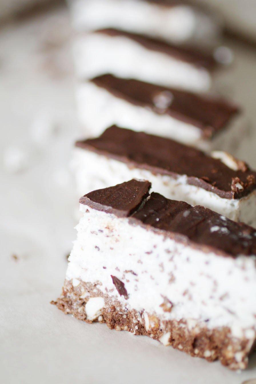 Dolcetto Freddo alla Menta e Cacao (Senza Glutine e Raw)