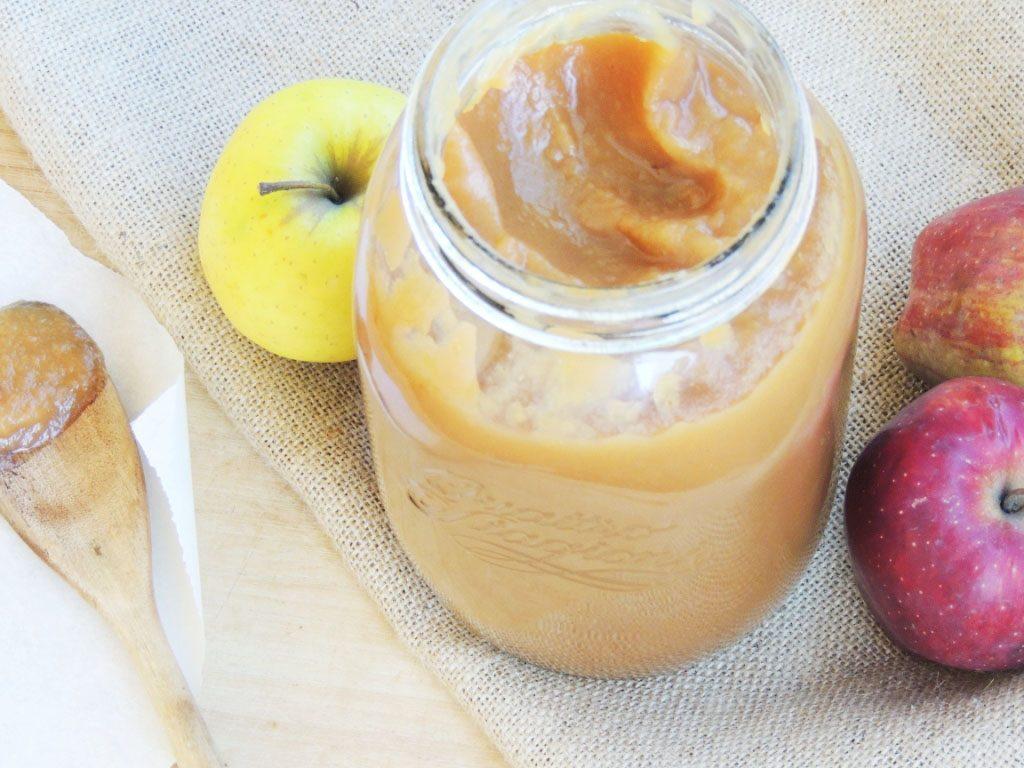 Apple Butter_Burro di Mele_Dolce Senza Zucchero (5)