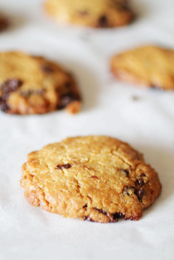 Biscotti al Burro di arachidi con gocce di cioccolato (1)