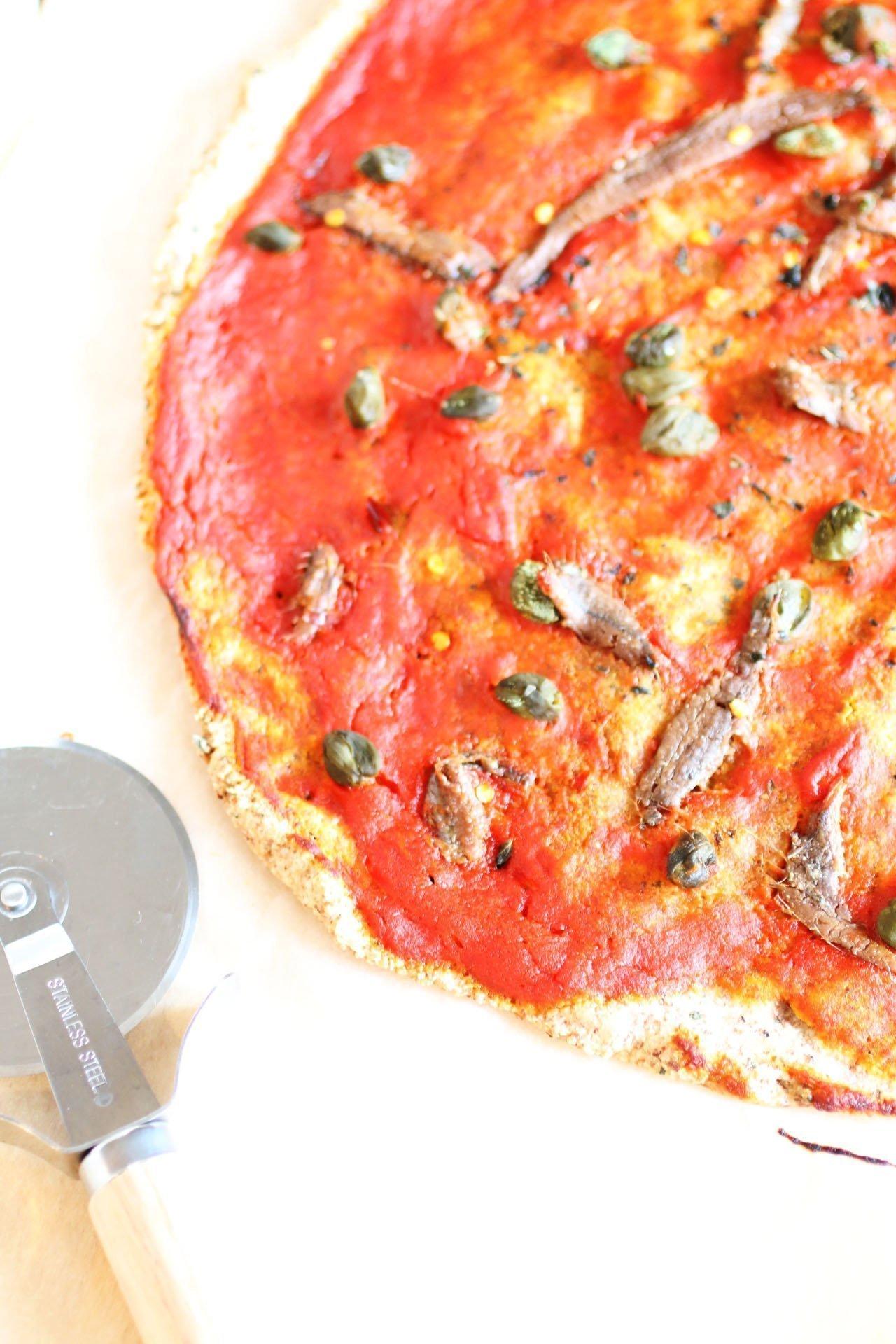 Pizza Senza Glutine e Lievito alla Napoletana