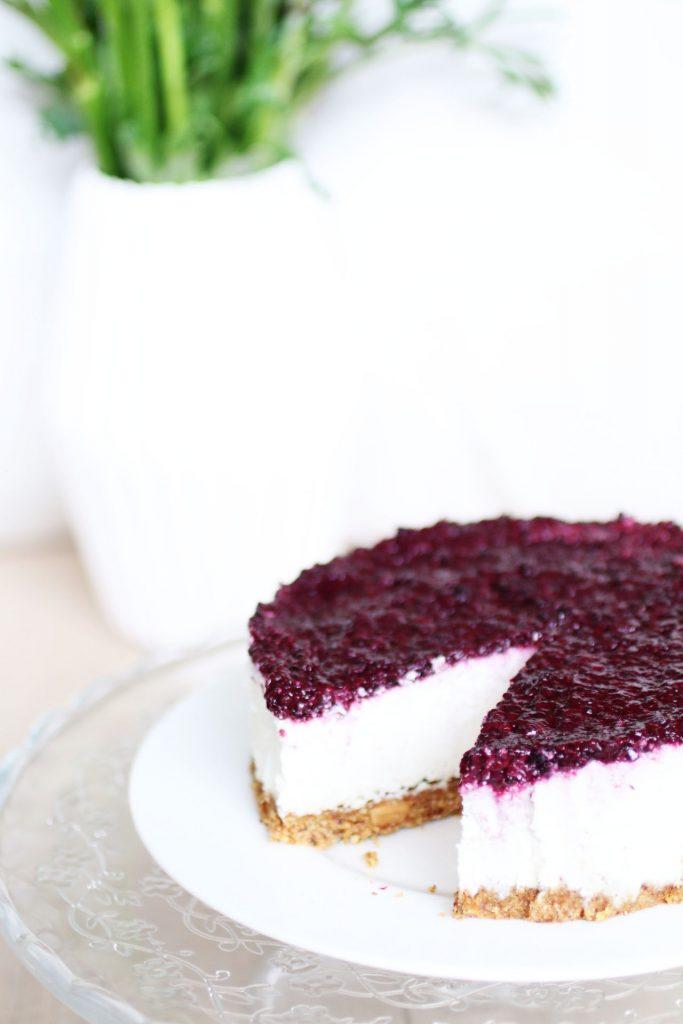 Cheesecake Senza Cottura e Senza Latticini (24)