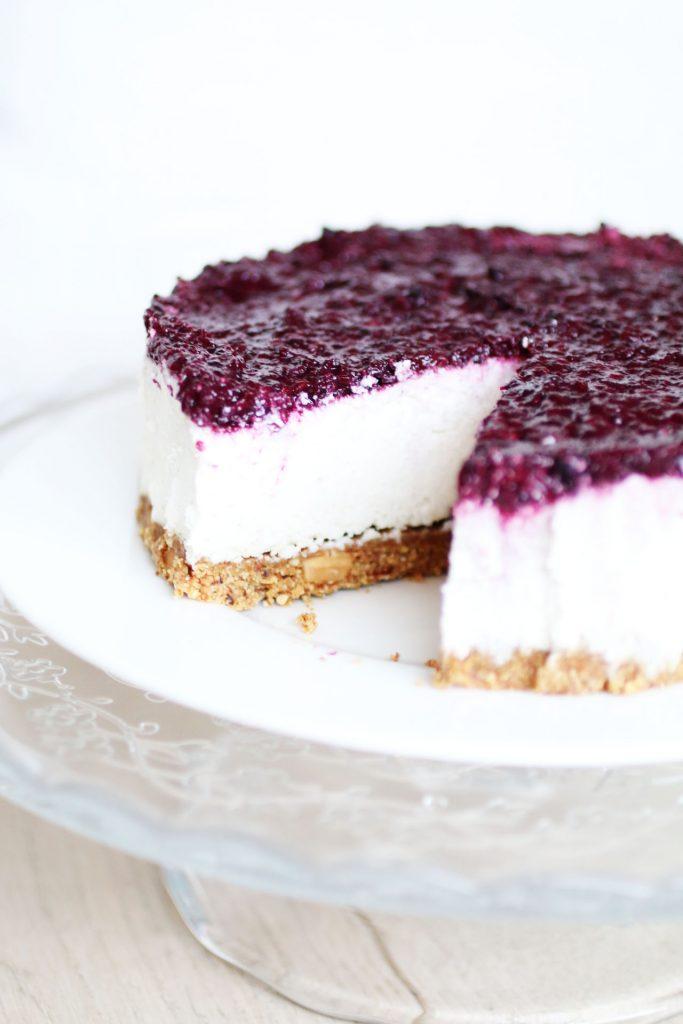Cheesecake Senza Cottura e Senza Latticini (5)