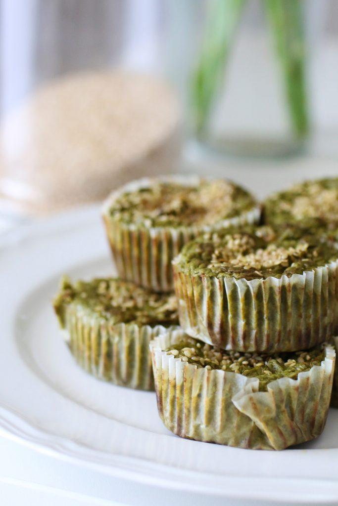 Muffin Salati alle Verdure Verdi Senza Glutine (2)