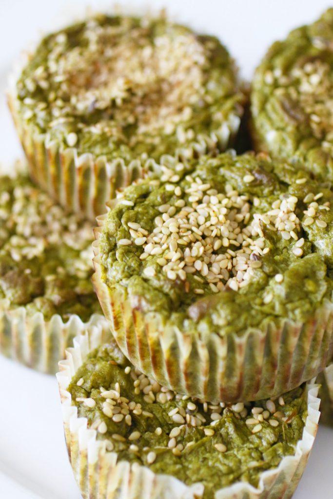 Muffin Salati alle Verdure Verdi Senza Glutine (5)