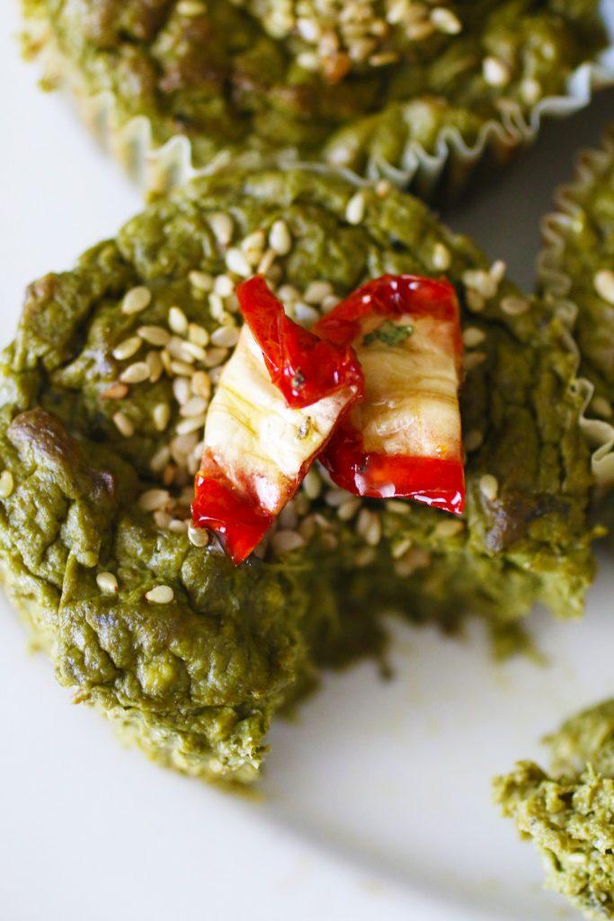Muffin Salati alle Verdure Verdi Senza Glutine (8)