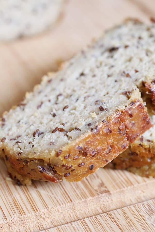 Ricetta Pasta Con Farina Di Quinoa.Pane Di Quinoa Con Lievito Madre E Semi Di Lino Dolce Senza Zucchero