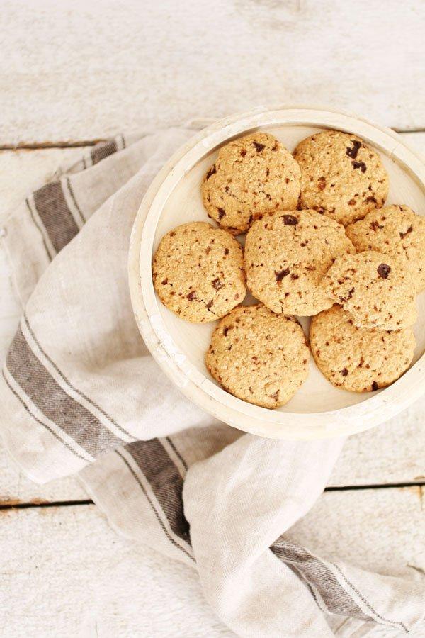 Biscotti con Farina di Sorgo e Cocco Senza Zucchero
