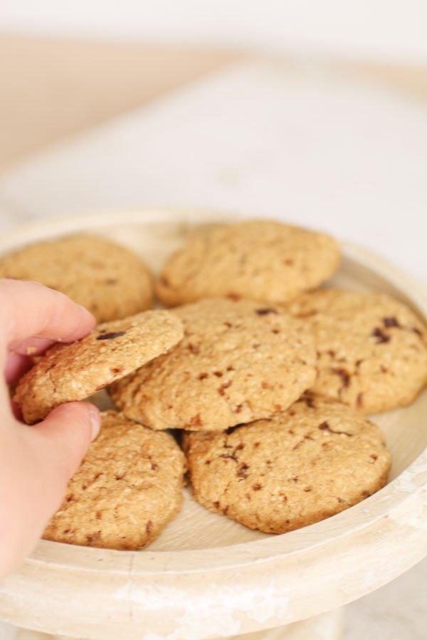 Biscotti con Farina di Sorgo Senza Zucchero