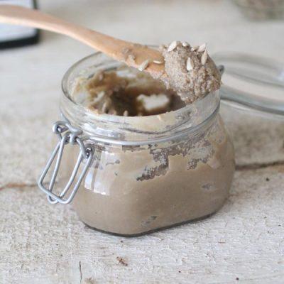 Burro di Semi di Girasole Crudo Senza Zucchero