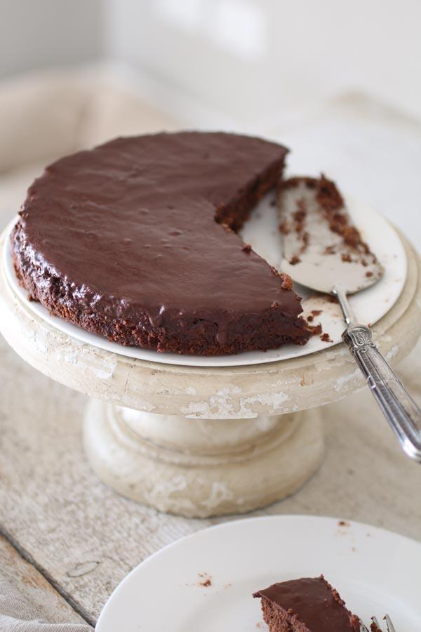 La Miglior Torta Sacher Senza Glutine e Senza Zucchero