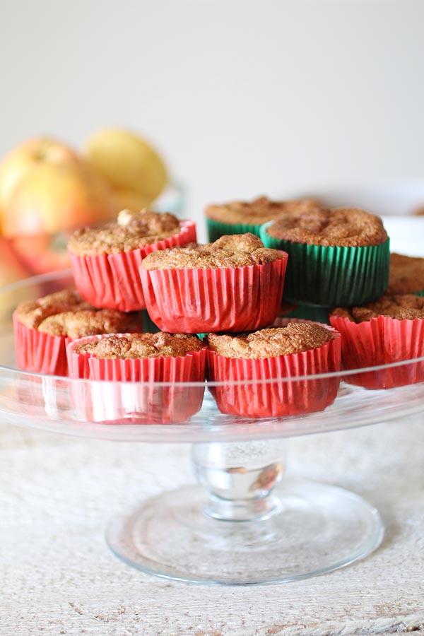 spesso Muffin Cuor di Mela Senza Zucchero | Dolce Senza Zucchero QS32
