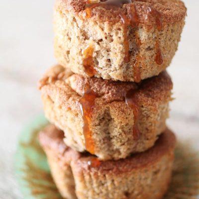 Muffin Cuor di Mela Senza Zucchero e Senza Glutine
