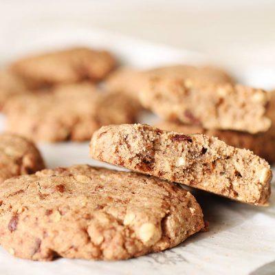 Cookies con Gocce di Cioccolato Senza Glutine