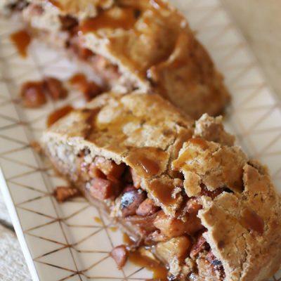 Strudel di Mele con Pasta Frolla Senza Zucchero