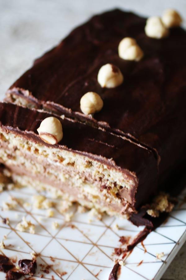 Mattonella al Cioccolato Senza Zucchero né Farina