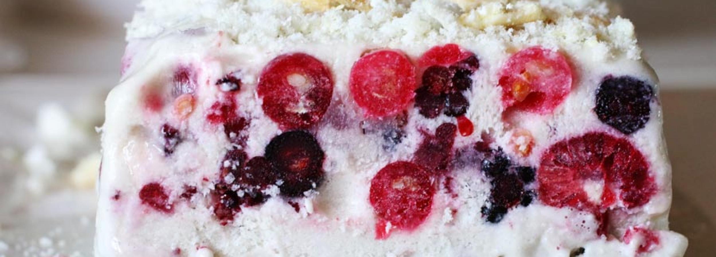 Semifreddo-ai-Frutti-di-Bosco-Senza-Panna-Senza-Zucchero