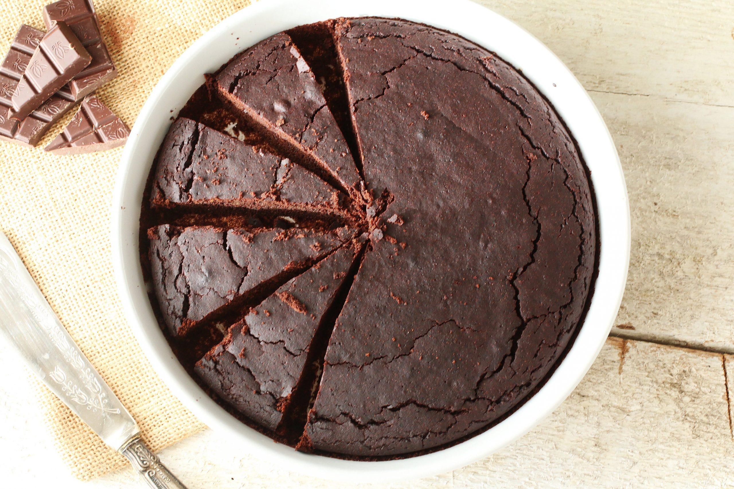 La Torta al Cioccolato e Olio d'oliva di Ivy [Senza Uova]