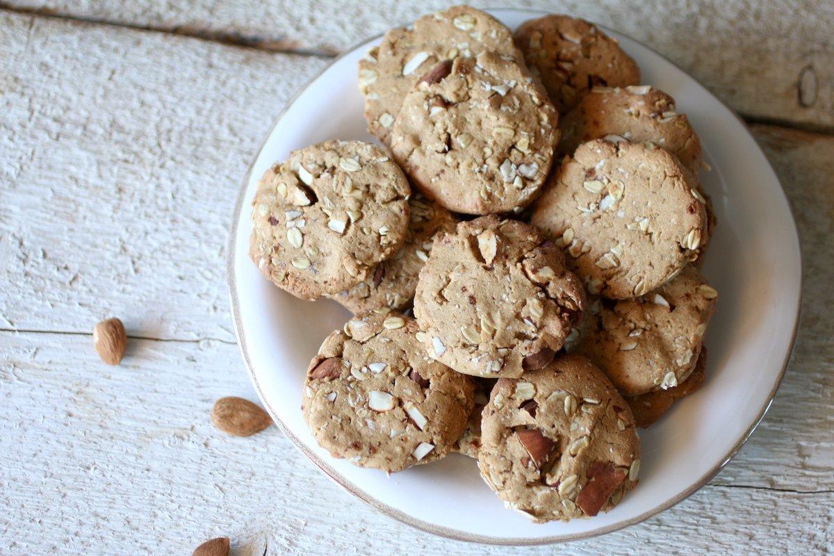 Biscotti al Farro Integrale e Fiocchi d'Avena Senza Zucchero