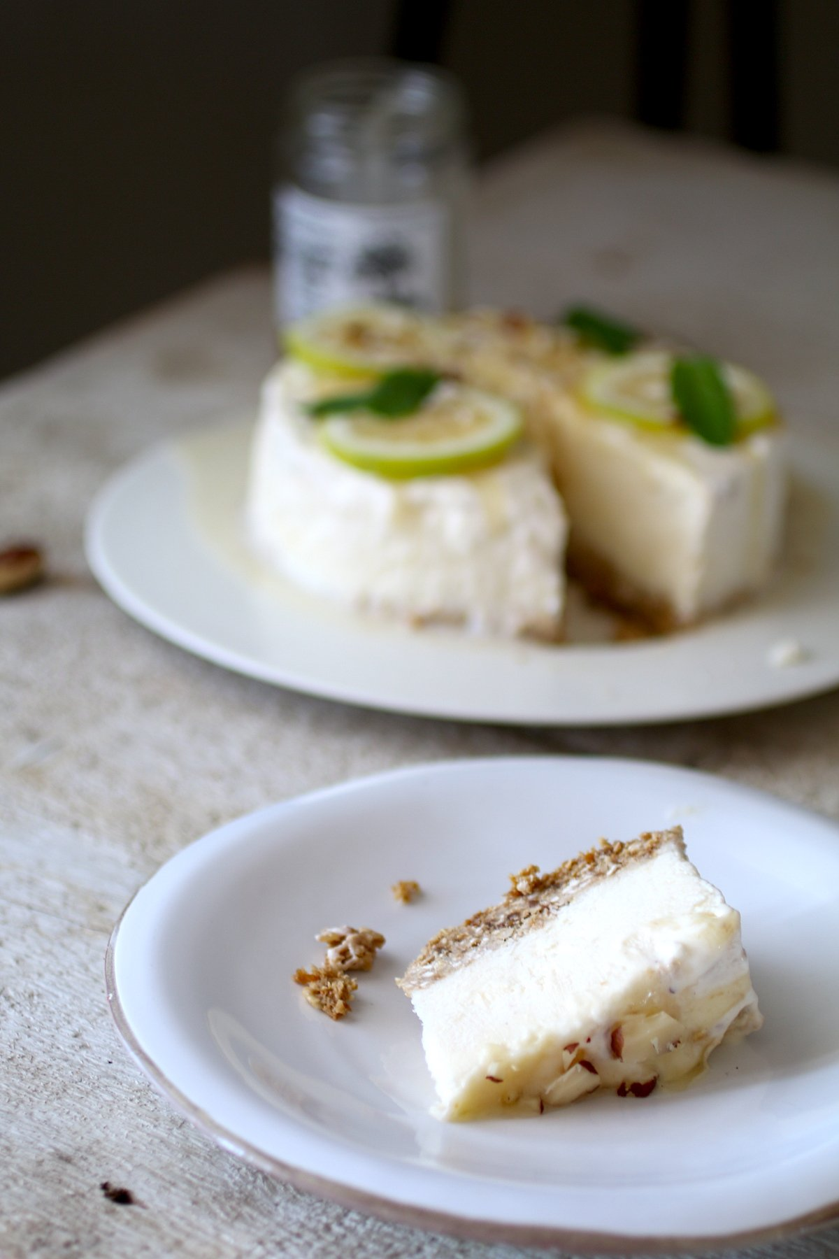Cheesecake allo Yoghurt, Miele e Limone