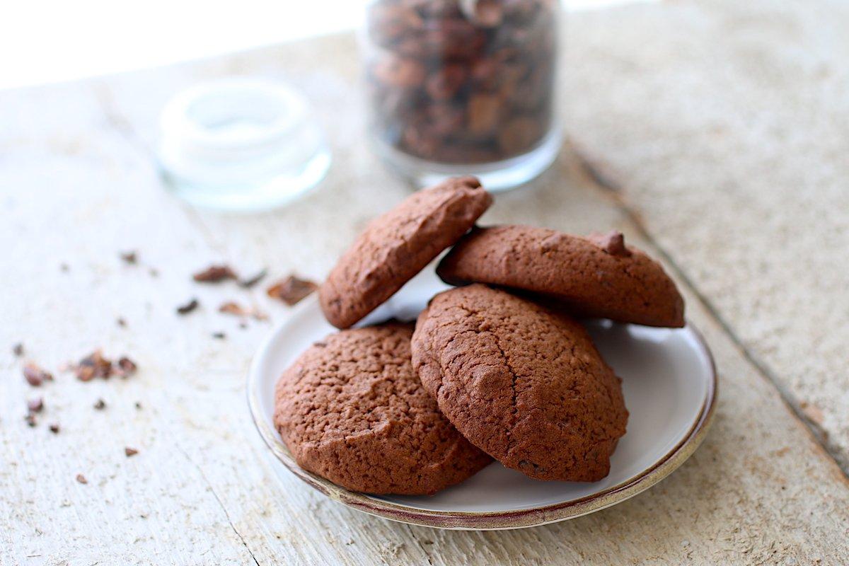 Biscotti Morbidi al Cioccolato con Lievito Madre [Senza Glutine]